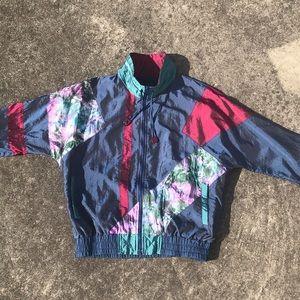 Women's vintage track jacket size M